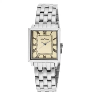 Lucien Piccard Women's Bianco LP-10502-20 Silvertone Stainless Steel Watch
