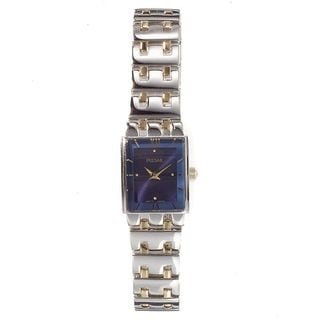 Pulsar Women's PEG363 Women's Two-Tone Watch