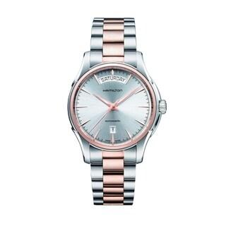 Hamilton Men's H32595151 Jazzmaster Silver Dial Two-tone Watch
