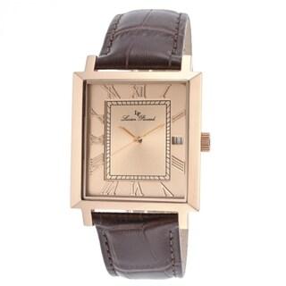 Lucien Piccard Men's Bianco LP-10501-RG-09-BRW Rose Goldtone Watch