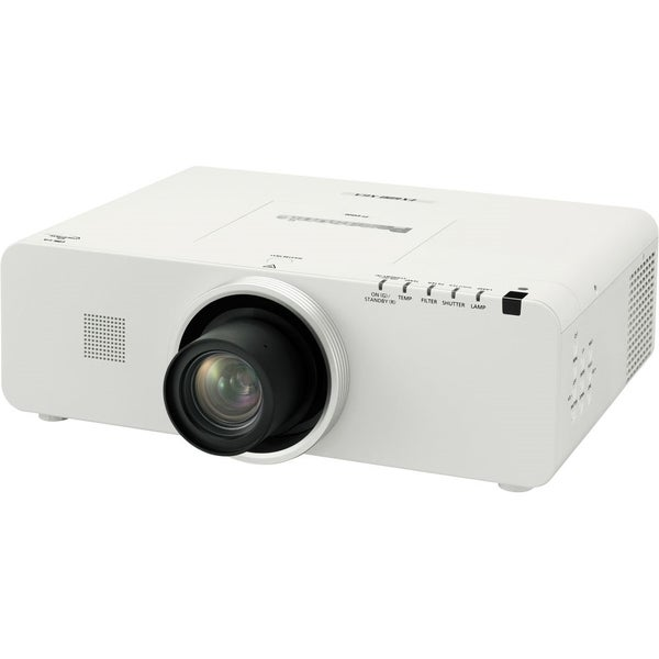 Panasonic PT-EX600U LCD Projector and Lens