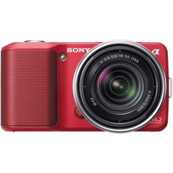 Sony Red 16.3MP Digital Camera (Body Only)