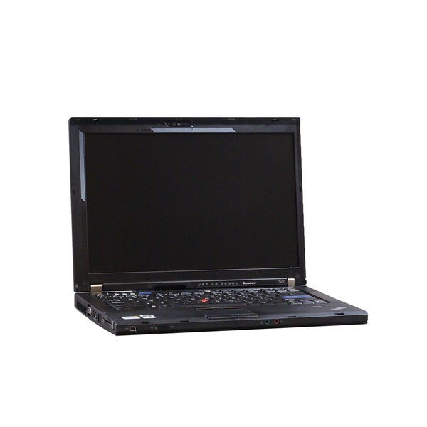 Lenovo ThinkPad T400 Intel Core 2 Duo 2.53GHz 4GB 160GB 14in Wi-Fi CAM DVDRW Windows 7 Professional (Refurbished)