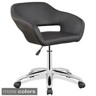 Upholstered Arm Office Chair