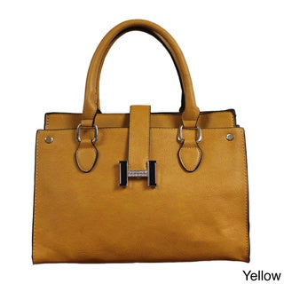 Lithyc 'Cedra' Vegan Leather Medium Satchel