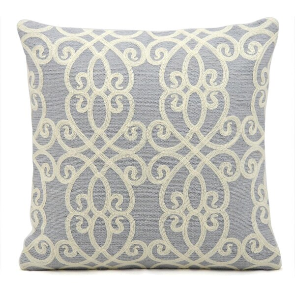 kathy ireland Romance Blue Throw Pillow (18-inch x 18-inch) by Nourison 13711587