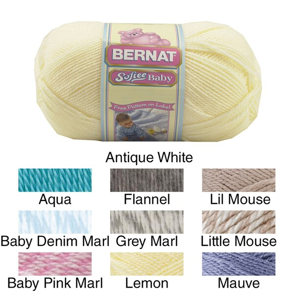 Softee Baby Yarn-Solids