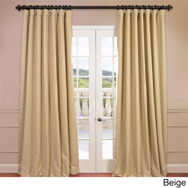 EFF Extra Wide Thermal Blackout 84-inch Curtain Panel