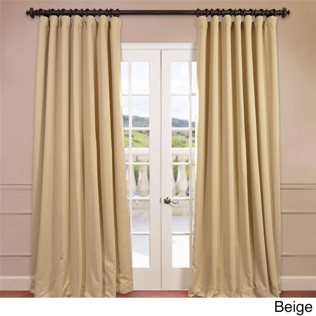 EFF Extra Wide Thermal Blackout 108-inch Curtain Panel