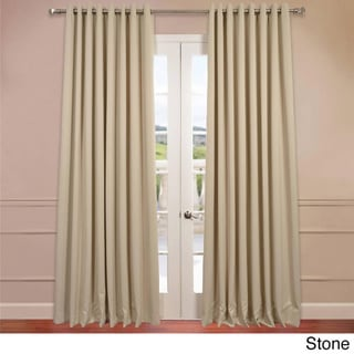 Extra Wide Thermal Blackout Grommet Top 108 Inch Curtain Panel Overstock Shopping Great