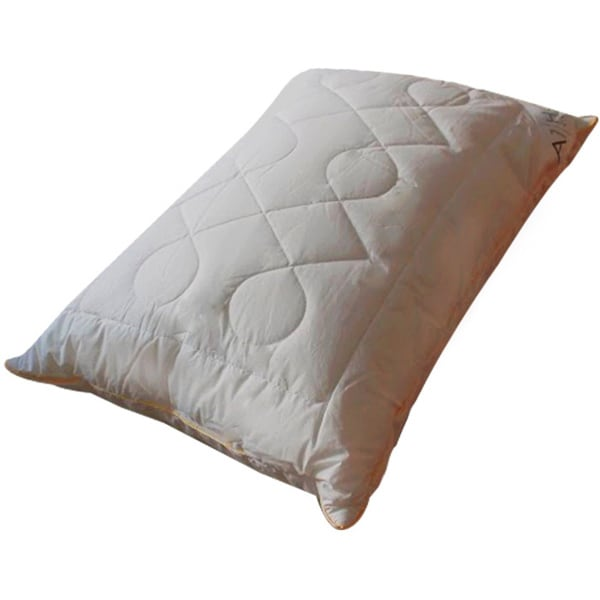 Hypoallergenic Quilted Diamond Chain-patterned Microfiber Jumbo-size Pillows (Set of 2)