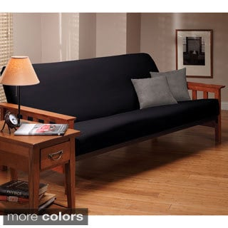 Stretch Leather Futon Slipcover