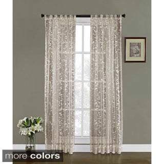 Eim Lace Vines Rod-pocket Curtain Panel