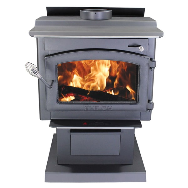 Shiloh Stove with Blower and Ash Drawer