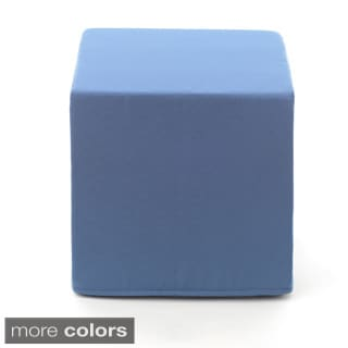 Sunbrella Indoor/ Outdoor Cube Pouf