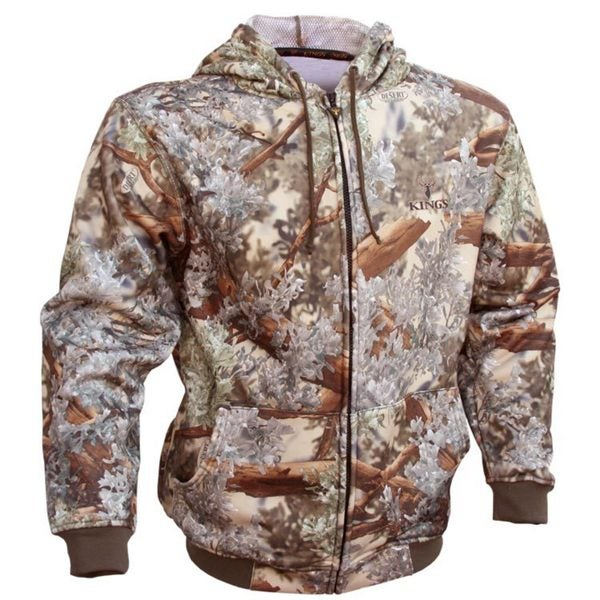 King's Camo Hunter Series Desert Shadow Camouflage Hoodie