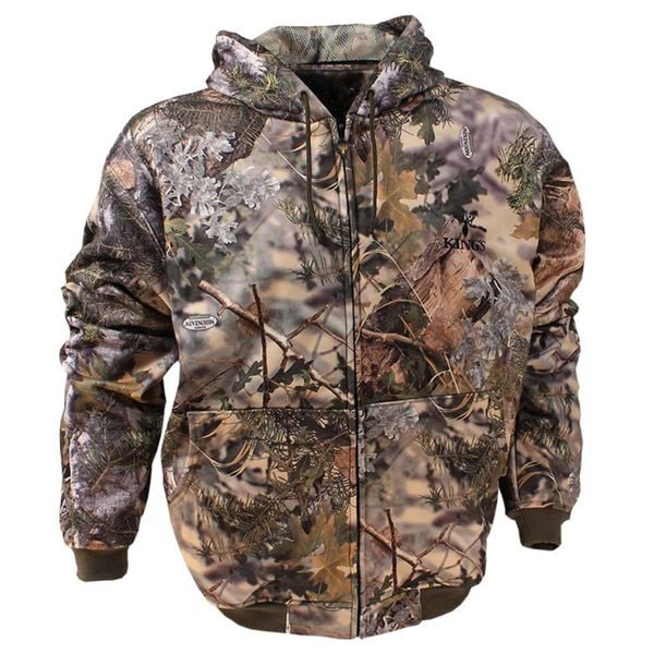 King's Camo Hunter Series Mountain Shadow Camouflage Hoodie