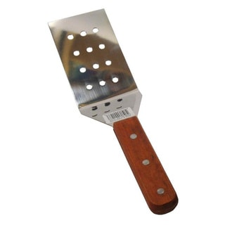 Perforated Stainless Steel Wood Handle Spatula