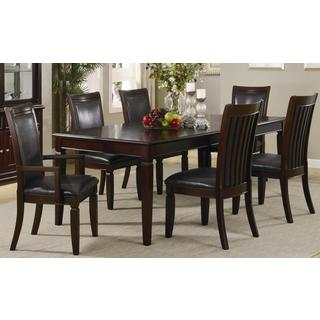 Monpellier Elegant Rail Back 7-piece Dining Set