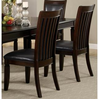 Monpellier Elegant Rail Back Dining Chairs (Set of 2)