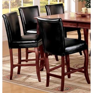 Bordeaux Contemporary Counter Height Stools (Set of 2)