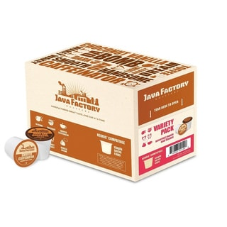 Java Factory Variety Pack Single Serve Coffee K-cups