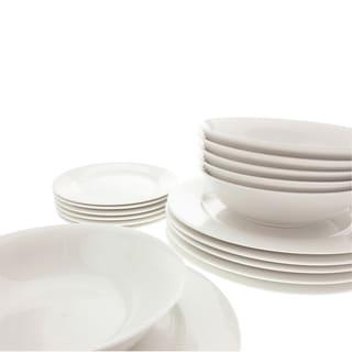 Maxwell & Williams White Basics 18-piece European Dinner Set
