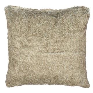 Bear Faux Fur 18-inch Throw Pillow