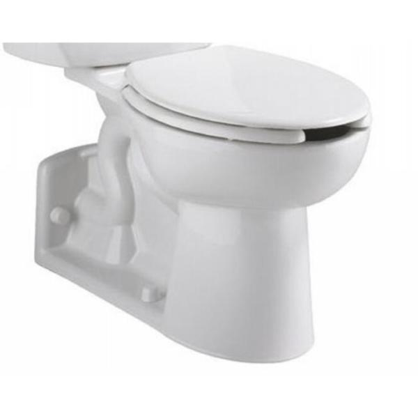 Yorkville Elongated White Toilet Bowl