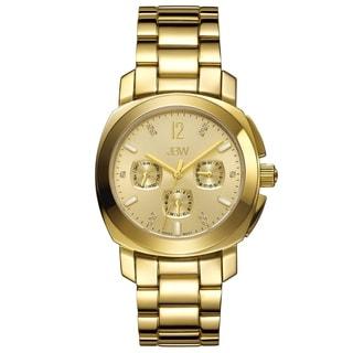 JBW Women's Marigny 18k Gold-plated Swiss Multi-function Diamond Watch