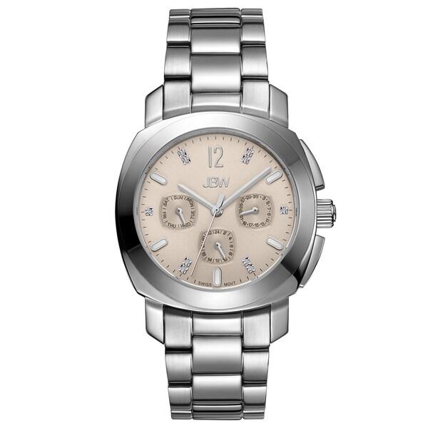JBW Women's Marigny Swiss Multi-function Diamond Watch
