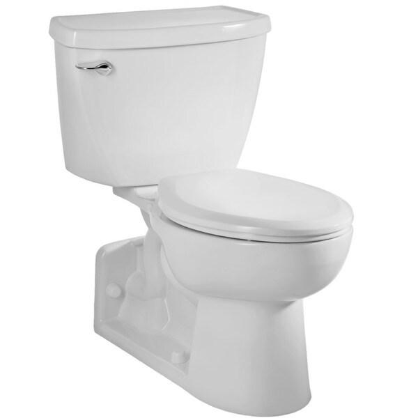Yorkville White Elongated Bowl Toilet