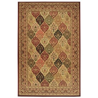 Maxy Home Traditional Persian Bakhtiari Multicolor Area Rug (8'2 x 9'9)