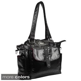 Bellotte Shine Coated Tote Diaper Bag