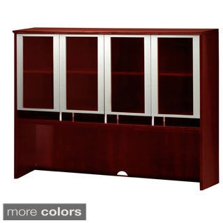 Mayline Napoli Series 63-inch Glass Door Hutch