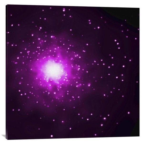 NASA 'M60 and M60-UCD1 (Chandra's View)' Stretched Canvas