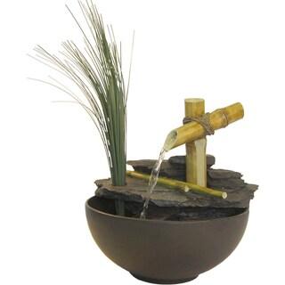 Eternity Calming Bamboo Tabletop Fountain