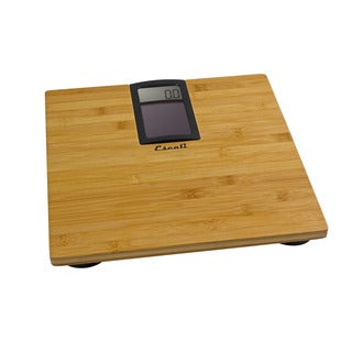 Escali Solar Bamboo Digital Bath Scale