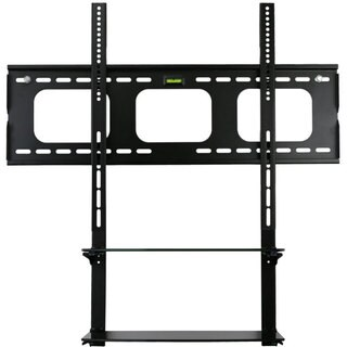 Mount-it! Low Profile Flat Panel TV Moun Glass Entertainment Center Combo