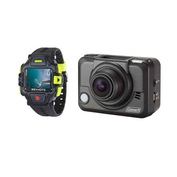 Coleman Bravo2 1080p High Definition Sports/ Action/ Helmet Camera with LCD Watch and Wi-fi