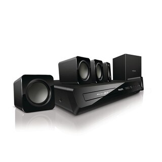 Philips Home Theater System with 3D Smart and Wi-fi Blu-ray Player