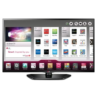 LG 39-inch 1080P 120HZ LED TV with Smart TV and Wi-fi (Refurbished)