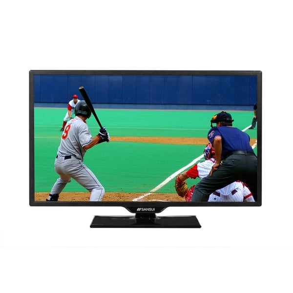 "Sansui Accu SLED2415 24"" 1080p LED-LCD TV - 16:9 - HDTV 1080p"