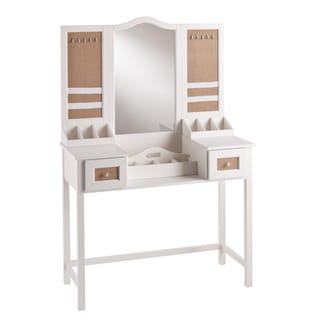 Upton Home Audrey Vanity Desk with Jewelry Storage