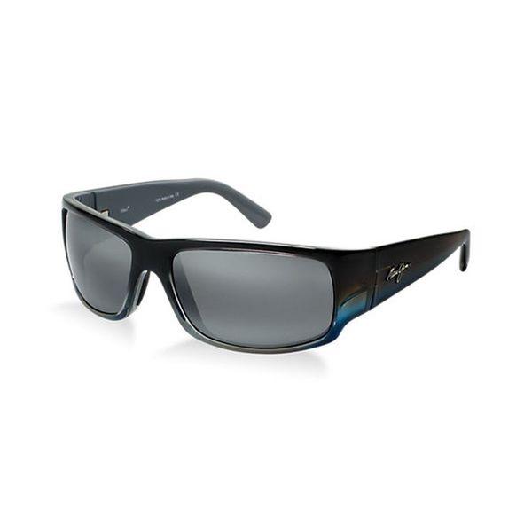 Maui Jim Unisex 'World Cup' Polarized Rectangle Sunglasses 13719799
