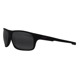 Maui Jim 'Island Time' Polarized Rectangle Sunglasses