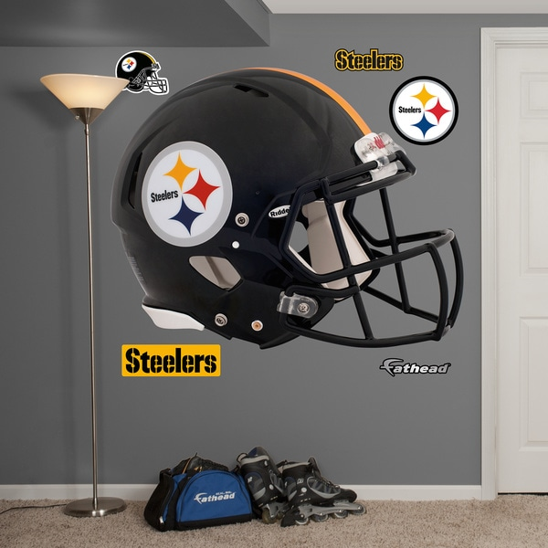 Fathead Pittsburgh Steelers Helmet Wall Decals (As Is Item)