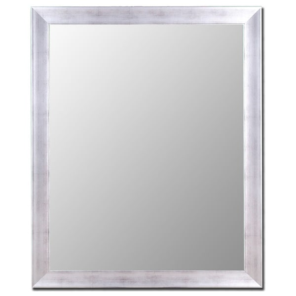 Vintage Silver Framed Wall Mirror