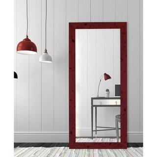 Barn Red Framed Wall Mirror
