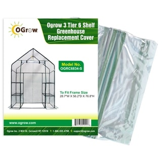 oGrow Greenhouse Replacement Cover